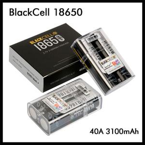 Auténtica BlackCell IMR18650 batería 3100mAh 3.7V 40A batería recargable de litio Vape Flat Top Box 18650 Alto Consumo Mod original del 100%