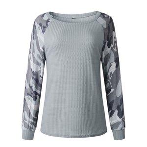 3 couleurs automne 2019 et de la mode d'hiver impression vestes Camo manteau femmes manches longues 101302 de wt19