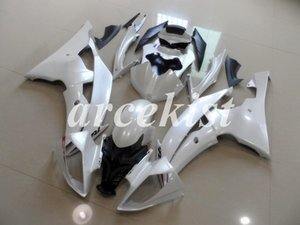 New ABS Injection Mold Full Fairings Kit Fit for YAMAHA YZF-R6 2008 2009 2010 2011 2012 2013 2014 2015 2016 R6 Body set White Light