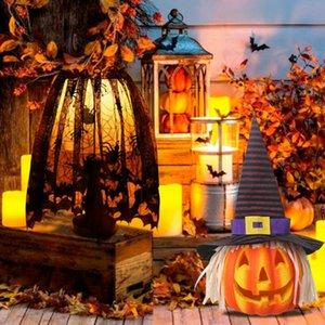 هالوين القرع محاكاة ضوء المحمولة الخفيفة القرع هالوين حزب ديكور
