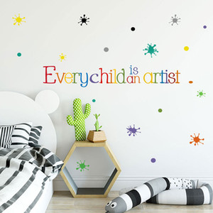 letter quotes baby kids room wall sticker self adhesive home decor bedroom decal wallpaper stickers house decoration