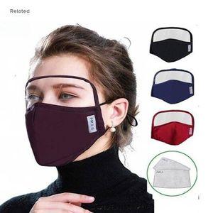 US LAGER! Neue Ankunfts-Baumwollmaske mit Augenschutz Augenschutz-Gesichtsmaske Full Cover Unisex-Antistaub-Winddichtes Schutzmaske FY9077