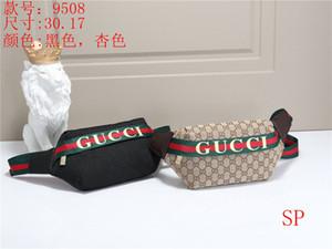 Bolsa 20ss hombre de la marca en el pecho de la buena calidad Diseñador mensajero del paquete de Fanny del bolso del diseño de la cintura libre del bolso Shippingbee Lobo Impreso Bolsa CCY B104698Y