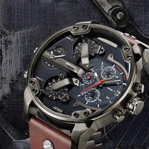 Lüks saat markası Spor askeri montres dizel saatler dz izle Orologio da uomo Montre homme yeni orijinal reloj büyük arama ekranı mens