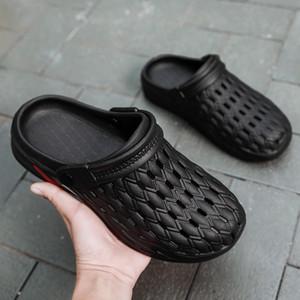 Pantofole femminile sandali casa coperta da bagno estate antisdrucciolevole molle scarpe paio homewear fondo uomini pantofola L351