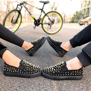 new Designs Shoes Spike junior calf Low Cut Mix Bottom is Red Sneaker Luxury Party Wedding Shoes Genuine Leather Spikes Lace-up Casual Shoes