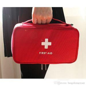 Voyage Portable vide First Aid Kit Bag Creative Pouch Home Office médical d'urgence de sauvetage Sac Case Sac médical de stockage BH0015