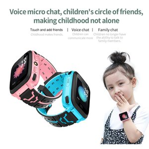 Children Kids Smart Watch Support SIM Card SOS Call Kids Tracker Baby Anti Lost Monitor For IOS Android Y21 Upgraded version