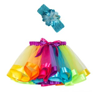 Toddler Baby Costume Skirt+headband Set Girls Kids Tutu Skirts & Skorts Baby & Kids Clothing Party Dance Ballet Rokjes Meisjes Tulle Skirt G
