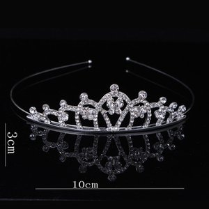 Bandas meninas Cristal Tiara Crown Rhinestone Headband cabelo das mulheres do partido Jewelry Acessórios de cabelo Princesa Cristal Tiara mantilha RRA2866