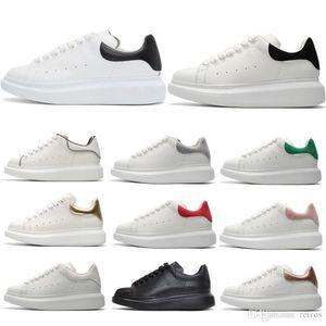 Casual Shoes Tasarımcı Erkekler Rahat Ayakkabılar Ucuz Yüksek Kalite üçlü siyah beyaz gri altın Mens Womens Sneakers Parti Platformu Ayakkabı Chaussures Sneakers
