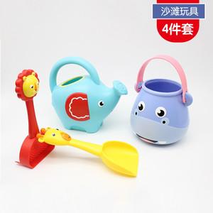 Детские игрушки пляжа Играть Вода Песок игрушки Plastic Beach Открытый Play Tools Set Жуэ Exterieur Enfant Sand Set JJ60BT