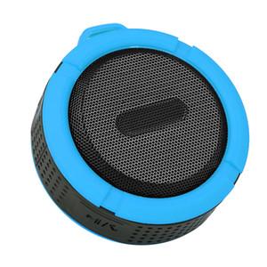C6 MiniProtable drahtlose Bluetooth-Lautsprecher wasserdicht Dusch Lautsprecher Indoor Outdoor Wirh Lange Batterie Lift- und Mic-TF-Karte
