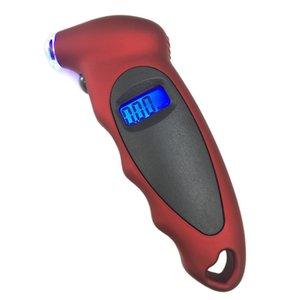 Kebidumei Araba Motosiklet Bisiklet Dijital Tire Gauge Taşınabilir Mini Lastik Teşhis Aracı LCD Hava basıncı göstergesi Teşhis Aracı