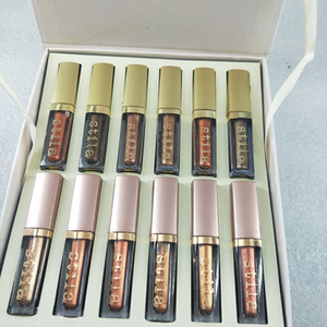 2019 neue 12 Farben / set Stila Auge für Eleganz Makeup Limited Edition Flüssiges Lidschatten Set Kosmetik Erde Farbe Lidschatten Make-up Set