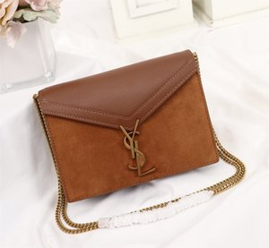 um ombro saco 7A high-end de qualidade personalizado estilo de moda saco de acessórios de metal ouro novas mulheres diagonais cruzadas com alça longa.