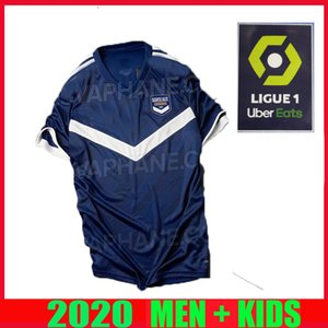 20 21 Girondins de Bordeaux soccer jerseys 2020 2021 maillot de foot BRIAND S.KALU KAMANO BENITO DE Oudin men kids kit BASIC football shirts