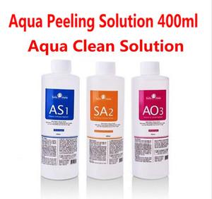 Aqua Peeling Solution 3 бутылки / 400 мл на бутылку Aqua Facial Serum Hydra Сыворотка для лица для гидродермабразии Fsat Shipping