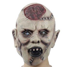 Máscara de disfraces de Halloween Máscara de calavera de terror nueva Máscara de silicona de terror Fantasma Cosplay Máscaras envío gratis 7Z-JR010