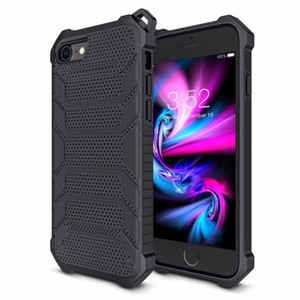 Luxury Dual Layer Rugged Armor Phone Case For iphone X 8 7 6 S 6S Plus Heavy Duty Shockproof Protective Cover For iphone8 7Plus