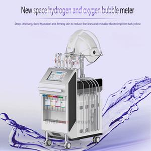 19 في 1 هيدرا الجلد قشر الوجه آلة المهنية هيدرا جلدي آلة للعناية بالبشرة مكافحة الانتفاخ التنظيف العميق الجلد تشديد