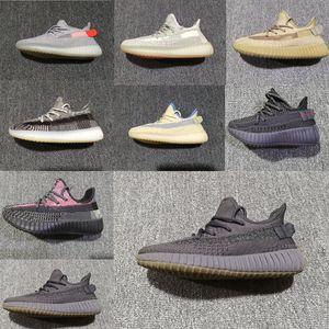 adidas Nourrisson 3M réfléchissant Cinder Lin Lundmark enfants Chaussures de course Terre Feu arrière Hayon Zyon Kanye West bébé Sneakes petits garçon tout-petits fille