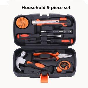 De alta calidad de acero al carbono Inicio Alquiler de Herramientas de jardín Herramientas Kits Carro de madera Ferramentas Bolsa Martillo T4033 Saw Hardware