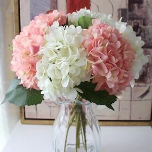 Fiore di seta artificiale Ortensia fiore di cerimonia nuziale Ortensia fiore di simulazione Arch Strada Fiori della decorazione della casa Simulazione ornamentali XHCFYZ14