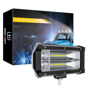 LED-Arbeitslicht - 72W Flood LED Light Bar für Traktor Offroad 4WD LKW ATV UTV SUV Fahr Lampe Tagfahrleuchte