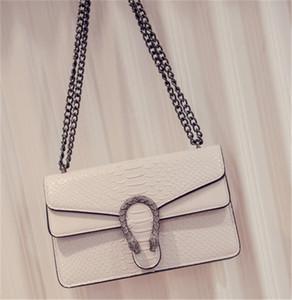 Designer-Handtaschen-Schlange-Qualitäts-Leder Geprägte Art und Weise Frauen-Kette Crossbody Beutel Designer Messenger Bags Umhängetasche Newset