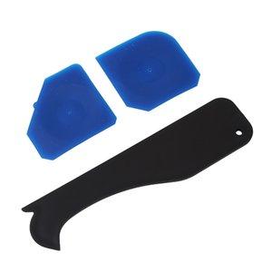 4Pcs / Set Ferramenta de calafetagem Kit Caulk Acabamento Joint Sealant raspador selante de silicone Grout Removedor Rodos