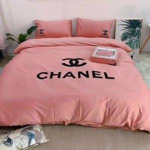 Cotton Adult weiche Bettwäsche Set Haus Bettfestbettbezug Queen-Size-Bettbezug Mode Bettwäsche