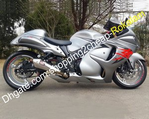 ABS corredo della carenatura Per Suzuki GSXR1300 GSXR 1300 2008 ~ 2012 2013 2014 2015 2016 Hayabusa Argento Moto Carrozzeria Parti (iniezione)