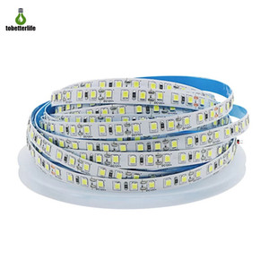 High Brightness 2835 led light strip 5M 600led Non-waterproof IP20 120led m Cold White outdoor led strip light