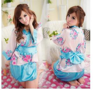 NOUVEAU sexy lingerie sexy mignon romantique séduction uniforme jeu sakura kimono japonais sexy mis en gros