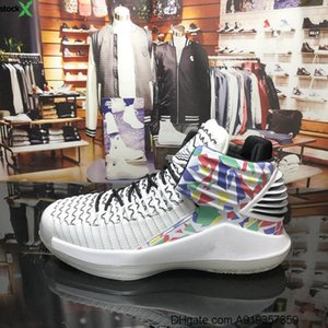 2020 New Arrival Jumpman XXXII 32 High Multicolor Rainbow basketball Shoes for Good quality Mens Trainers 32s Sports Sneakers Size
