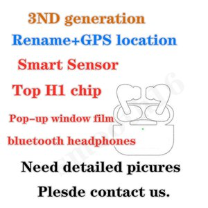 Newest High Air 2 H1 chip Renamed headset 2nd Generation Wireless Charging Bluetooth Earphones GPS Positioning and Galaxy Buds headphone NE