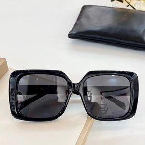 Tasarımcı Güneş Lüks Büyük Boy kare asetat Kadın Güneş Gözlüğü Siyah Büyük Boy Kare Kare Kadınlar EYEWEAR UV400 Yüksek Kalite