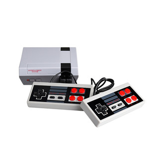 Mini juego Anniversary Edition Home Entertainment System TV Video consola de juegos portátil NES 620-Bit en 8 juegos con doble Gamepads