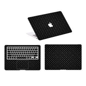 """Macbook Cilt Koruyucu Setleri Pro 13.3 """"Pro 15.4"""" MacBook 12 """"Koruyucular Siyah Yüksek Kalite Su Geçirmez Sticker Macbook Kılı ..."""
