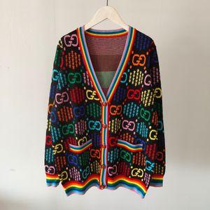Tasarımcı Kadınlar Örme Triko Moda sıcak Bayanlar Coat Marka Örme Hırka Kazak Kızlar Bahar Casual Üst Tasarımcı Giyim 2020665K