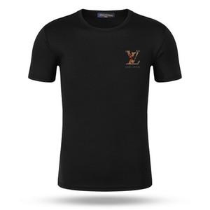 Top Uomo Donna Sport maglietta del cotone 2020 di estate di modo verde Matcha Pesca Rosa maglietta casuale Tee c6LV