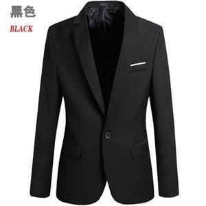 Mens Suit coat designer suits Autumn casual coats jacket Blazers Polyester A buckle Formal wear men clothigns S-4XL