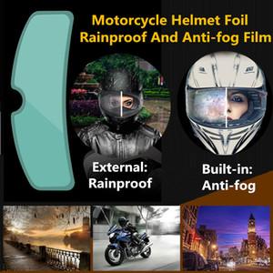 Шлем Clear Pinlock Anti-Fog патч фильм Универсальный мотоциклов Шлем объектива Противотуманные Устойчивые Пленки для K3 K4 AX8 LS2 HJC MT касок