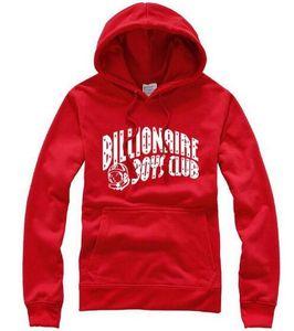 Fashion Billionaire-boys-club Hoodie Sweatshirts Letter Printed Pullover Men Hip Hop Hoodies Long Sleeve Sweatshirts Male Hoody Size S-3XL