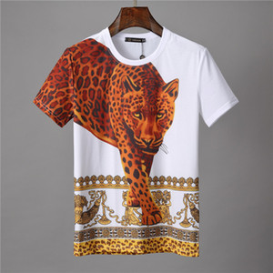 2020 hombres Rampo / Rampo manga corta T-tapa de la camisa raya blanca camisa de la mitad inferior de cuello redondo camiseta de manga PO022 ropa de moda