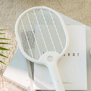 Xiaomi Youpin elettrico Mosquito Swatter ricaricabile a LED Mosca elettrica Bug mosca zanzara Dissipatrice Killer Racket netto a 3 strati