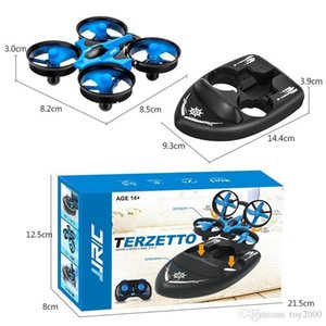 Upgraded H36 JJRC H36F Terzetto 1 20 2.4G 3 In 1 RC Vehicle Flying Drone Land Driving Boat Quadcopter Model Toys 2512
