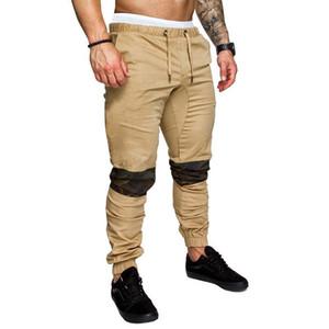 Beiläufige Hose Frühling Herbst Mode Pantalones Herren Camouflage Designer