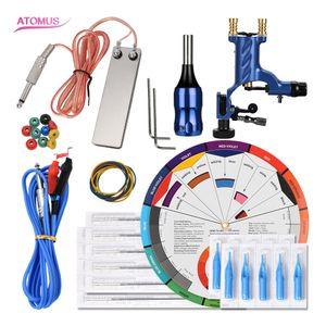 Rotary Machine Pen Liner Shader Gun And Set Tattoo Gun Kit Complete Supply Rotary Professional Machine Set Complete Tattoo